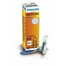 Лампа галогенная Philips H3 Vision, 3200K, 1шт/картон 12336PRC1
