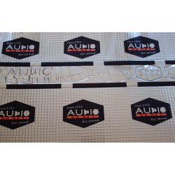 Шумоизоляция AudioSystem Alubutyl 2000 2.0 mm (0,7х0,5)