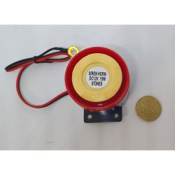 Сирена пьезоэлектрическая AS-43 15Вт 6 тон