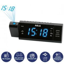 Радиочасы AKAI ACR-3888