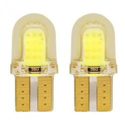 Габарит LED IDIAL 484 T10 COB 12 leds 12V SILICON бл (2шт)