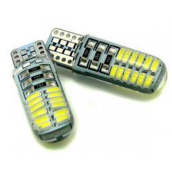 Светодиодная лампа iDial 478 T10 3014 24SMD/200LM 6000K 12V (2шт.)