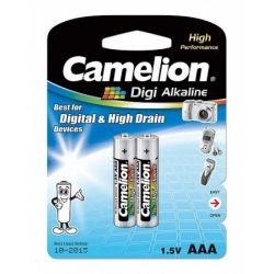 Батарейка CAMELION LR 03/ 2 BL (Digi Alkaline) (1,5 V AAA 2 шт)