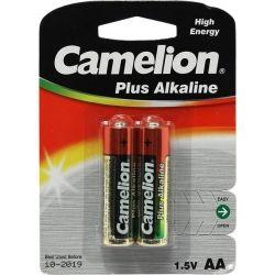 Батарейка CAMELION LR6 / 2 BL (Plus Alkaline) (1,5 V  AA 2 шт)
