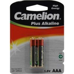 Батарейка CAMELION LR 03/ 2 BL (Plus Alkaline) (1,5 V  AAA 2 шт)