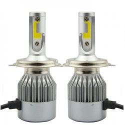 Лампы светодиодные C6 H4 12-24V COB (2шт)