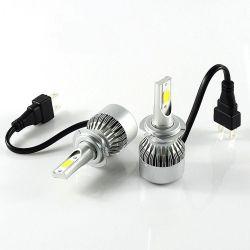 Лампы светодиодные C6 H7 12-24V COB (2шт)