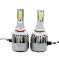 Лампы светодиодные C6 HB3 9005 12-24V COB (2шт)