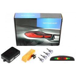 Парктроник Galaxy PS4-01 LED сереб