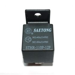 Реле с гнездом STHR-110P-12F 40А