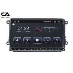 """Штатная магнитола CraftAudio CA-8875 9"""" VW PQ"""
