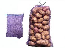 Сітка овочева 20кг 60х40 (100шт) фіолетова ТМ PACKETOFF