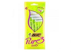 Однор. станок BIC 3 Pure Lady для гоління (4шт.в уп.) ТМ BIC