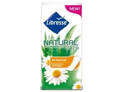 Прокладки щоденні 20 шт (Natural Pantyliners Normal) ТМ LIBRESSE
