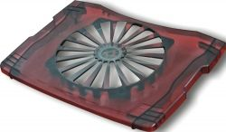 "Havit Cooler Pad HV-F2008, Dark Transparent, 14-16"""