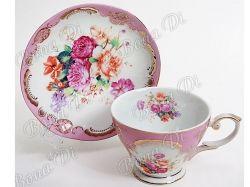 Сервіз чайний 2 пр. (чашка 200млблюдце) у подар. уп. 282A83 ТМ BONADI