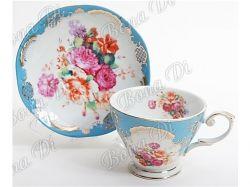 Сервіз чайний 2 пр. (чашка 200млблюдце) у подар. уп. 282A87 ТМ BONADI