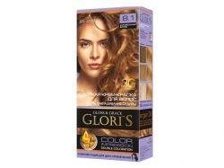 Фарба для волосся GLORIS 8.1 (Карамельний блонд) ТМ GLORIS