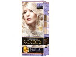 Фарба для волосся GLORIS 10.6 (Перлинносріблястий) ТМ GLORIS