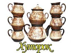 Чайний набір (8 пр.) Хутірець ТМ ТОРСКИЙ
