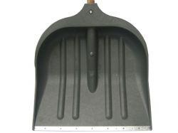 Лопата снігопр. пл. ЛСУ з метал. нак. та пластик. ручкою 500х450 ТМ LION