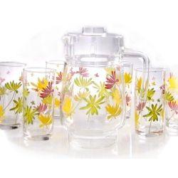 Набор для воды Luminarc CRAZY FLOWERS g4621 - Картинка 1