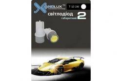 Автолампа Xenolux T10-1W зелёный