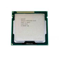 Intel Pentium (LGA1155) G870, Tray, 2x3,1 GHz, HD Graphic (1100 MHz), L3 3Mb, Sandy Bridge, 32 nm, TDP 65W (CM8062307260115)