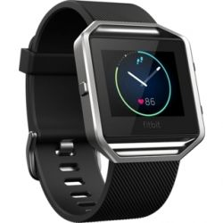 Fitbit Blaze for Android/iOS Black size Large (FB502SBKL)