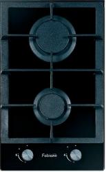 Газовая варочная поверхность FABIANO FHG 162GH Black Glass