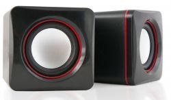 Акустическая система HQ-Tech HQ-SP04U 2.0 Black&Wine
