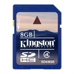 SD Kingston SDHC 8GB CLASS 4