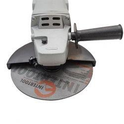 Болгарка Шлифмашина угловая 1650 Вт, 8000 об/мин, диаметр круга 180 мм, фиксатор INTERTOOL DT-0218 - Картинка 4