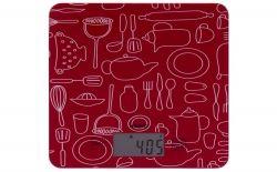 Весы кухонные Magio MG-690 RED