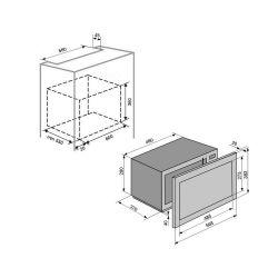 Встраиваемая микроволновая печь VENTOLUX MWBI 20 X - Картинка 7