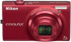Nikon Coolpix S 6100 Red