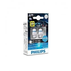 Автолампа Philips 12799 W5W X-Treme Vision LED 8000K 12V