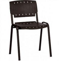 Офисный стул AMF Призма черный пластик черный
