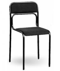 Офисный стул AMF Аскона черный А-01