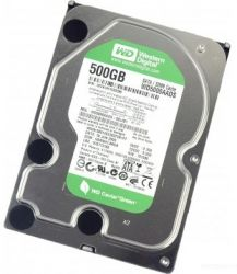 "Western Digital Caviar Green 3.5"" 500Gb, SATA2, 32Mb, 5400 rpm (WD5000AADS)"