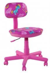 Детское кресло AMF Свити сиреневый Пони розовые