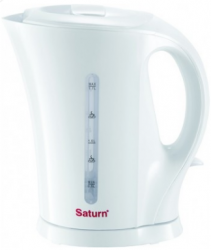 Электрочайник Saturn ST-EK0002 White