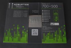 Виброизоляция Acoustics 2,2 700*500