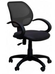 Офисный стул AMF Байт/АМФ-5 Сетка черная
