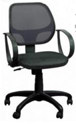Офисный стул AMF Бит/АМФ-8 Сетка черная