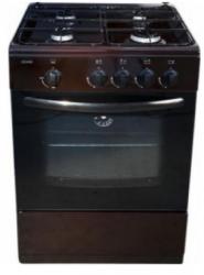 Плита газовая Cezaris ПГ 2100-04 коричневая