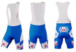 Велотрусы Orbea Team Culote Corto S team голубой
