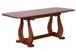 Обеденный стол AMF Орешек-4Н орех темный