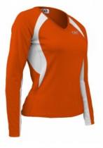 Джерси Orbea Sport L бело-оранжевая