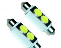 Габаритные огни Iskra LED/LL 120306P-W/36 Т11 36мм белые (2 шт.)